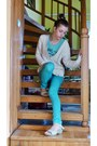 Eggshell-knitted-j-d-europe-sweater-aquamarine-miss-happy-pants