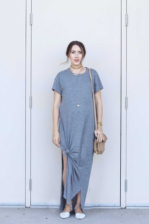 grey maxi dress Shopbop dress