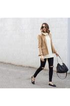 blazer Target blazer - jeans Topshop jeans - romwe sweater