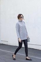 sweater Sheinside sweater - leggings Nordstrom leggings
