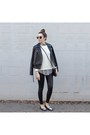 Black-nordstrom-leggings-striped-shirt-sheinside-shirt-flats-asos-flats