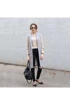 sweater sweater - jeans jeans - vest vest - flats flats