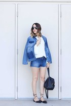 jacket Old Navy jacket - shorts Topshop shorts - top Closet London top