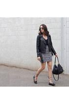 skirt asos skirt - moto jacket Forever 21 jacket