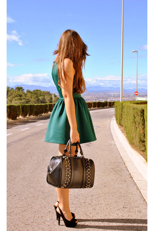 Zara bag - H&M dress - Zara heels