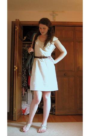 Gap dress - Marshalls shoes - NY street vendor purse