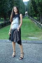 Prada dress - Valentino purse - pasmnina bought in Oman scarf - Prada shoes