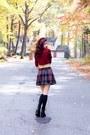 Tobi-boots-forever-21-skirt