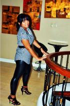 Zara shirt - blingfinds tights