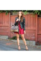 black Steve Madden shoes - black Charlotte Russe jacket