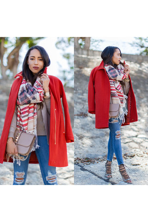 Red Coat - How to Wear and Where to Buy | Chictopia