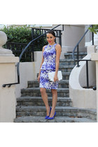 Tie Dye Peplum Dress