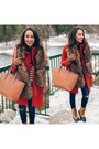 Tan-madden-girl-kohls-boots-red-ellen-tracy-coat-navy-ymi-jeans