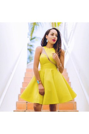 yellow Forever Unique dress