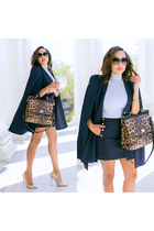 navy lavish alice cape - nude Jimmy Choo shoes
