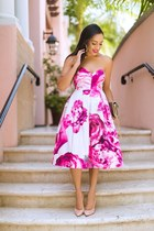 The Floral Bandeau Dress