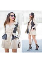 black Target shirt - Lulus shoes - off white Sheinside jacket - Valentino bag