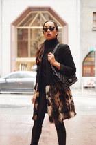 black leopard print Trina Turk coat