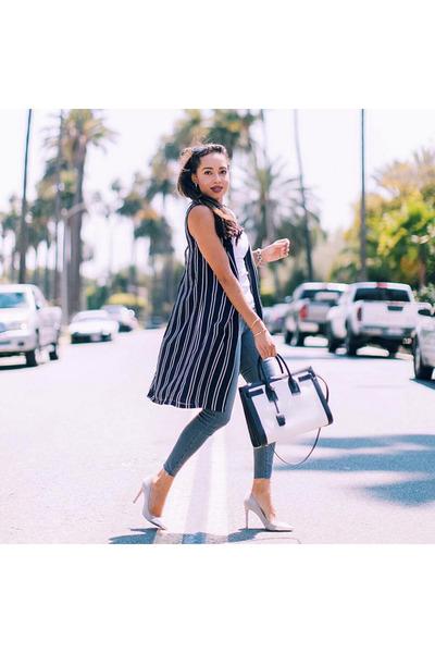 black striped UK Glamorous vest