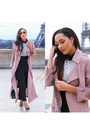 Black-gucci-shoes-light-pink-trench-coat-forever-21-coat