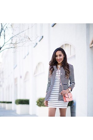 white striped Likely dress