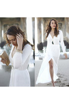 white Klementine Manhattan Beach Boutique dress