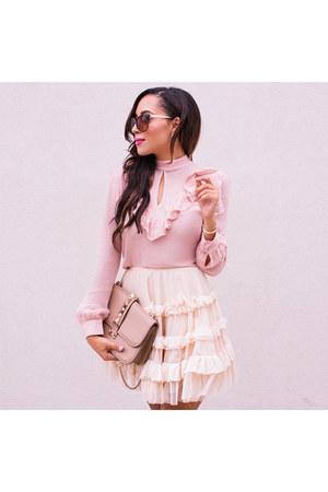 light pink Charlotte Russe top