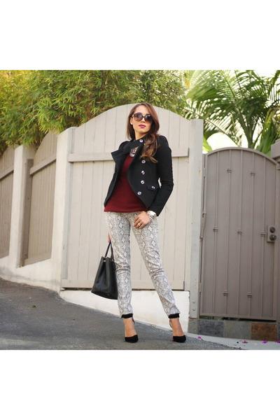Black-charlotte-russe-shoes-silver-mudd-jeans-black-charlotte-russe-jacket
