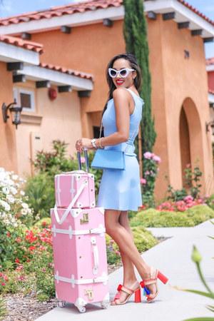 light blue Amazon Fashion dress