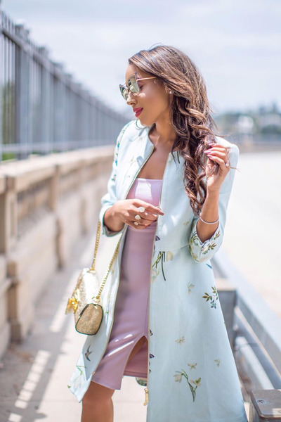 light blue ted baker jacket