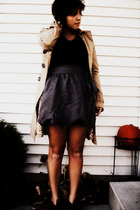 top - Forever 21 skirt - H&M coat - Target shoes