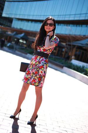 Alannah Hill dress - YSL bag