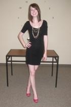 H&M dress - H&M necklace - shoes