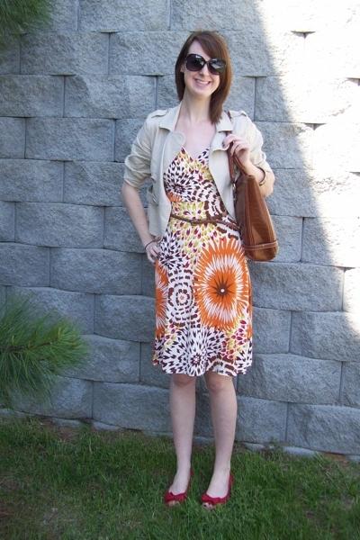 Target dress - Khols jacket - Target shoes