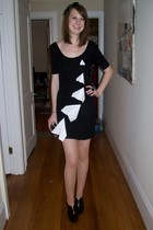 H&M dress - Forever21 accessories - Charlotte Russe shoes - tights - accessories