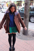 black suede Jeffrey Campbell shoes - Marc Jacobs jacket
