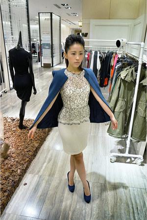 blue 2-layer jacket 31 philip lim jacket
