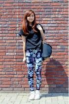 Alexander Wang Inspired Bag bag - Converse shoes - H&M leggings