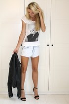 Ana Lublin shoes - Zara jacket - Loavies shirt - Zara shorts