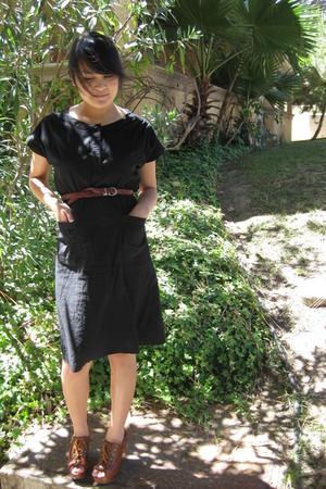 forever 21 dress - belt - shoes