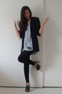 Gray-vintage-union-bay-shirt-black-forever-21-leggings-black-target-shoes