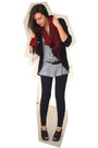 Black-express-cardigan-gray-target-t-shirt-black-kmart-mes-belt-red-expres