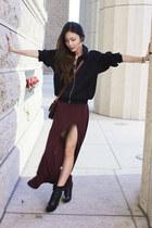 maxi skirt brandy melville skirt