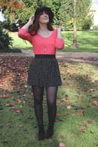 coral supre blouse