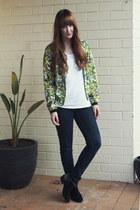 chartreuse Dotti jacket