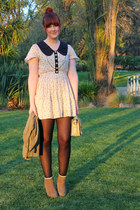 cream Dahlia dress