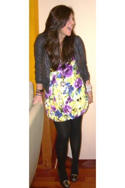 Bershka jacket - Zara dress - Prada shoes