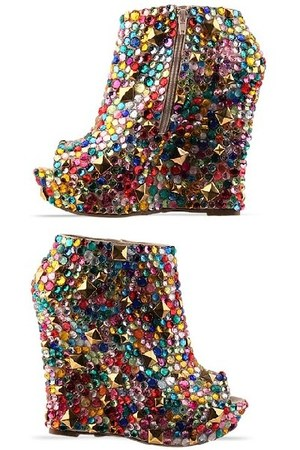 wedge bootie SoleStruck heels