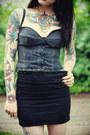 Knit-mini-skirt-mossimo-skirt