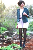 Silence&Noise jacket - aa Rainbow Tank Top dress - Dr Martens boots - Urban Outf